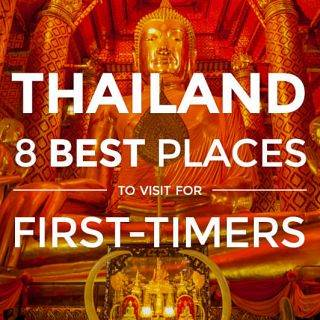Thailand: 8 Best Places to Visit for First-Time Travelers