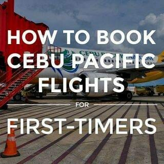 How to Book Cebu Pacific Flights