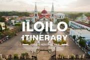 Iloilo Itinerary