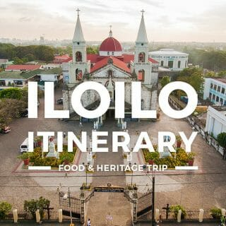 Iloilo Itinerary - One Day City & Province Tour for First-Timers