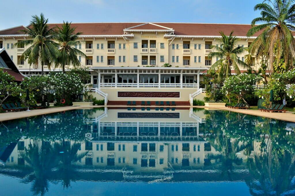Raffles D Angkor Hotel, Siem Reap, Cambodia