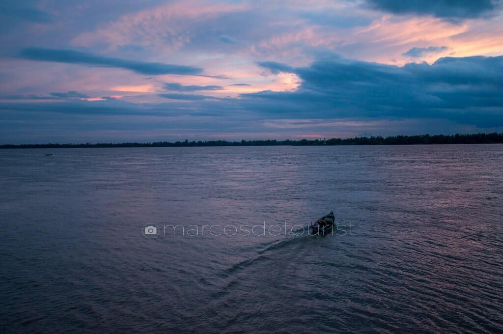 Mekong River, Kratie, Cambodia