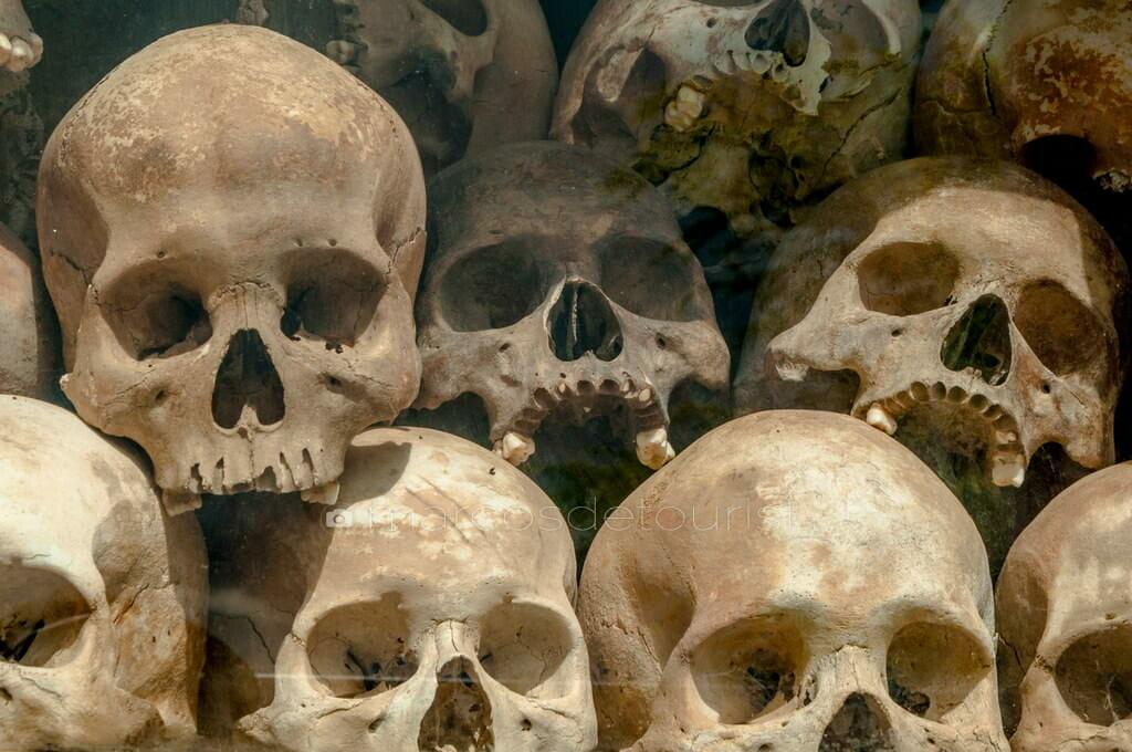 Choeung Ek Genocidal Center (Killing Fields), Phnom Penh, Cambod