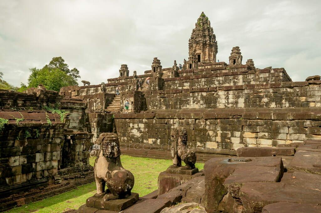 Bayon, Rolous Group, Angkor, Siem Reap, Cambodia