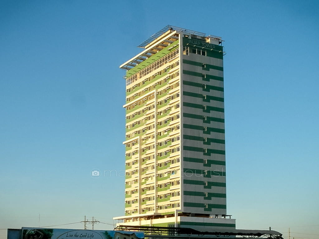 Injap Tower Hotel, Iloilo's tallest building.