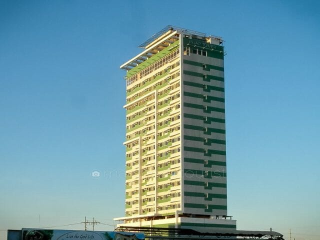 Injap Tower Hotel, Iloilo's tallest building.