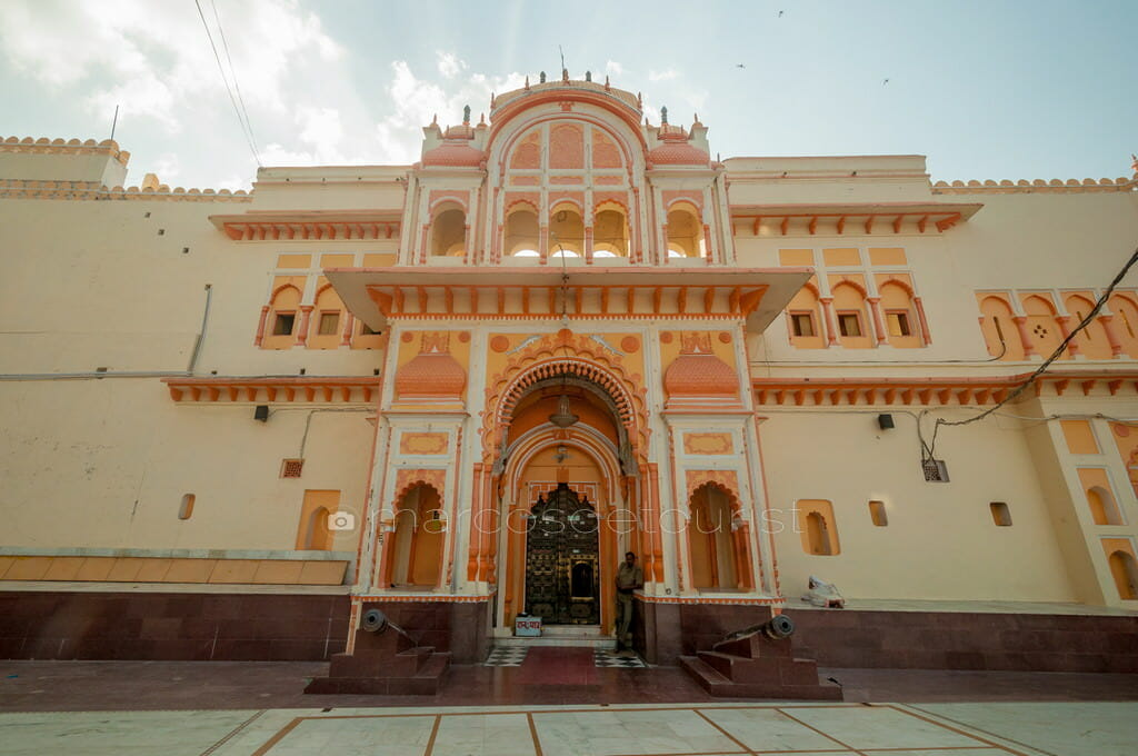 Ram Raja Temple, Orccha, Madhya Pradesh, India