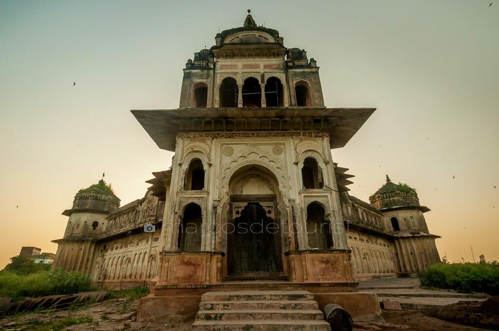Lakshmi Temple, Orchha, Madhya Pradesh, India
