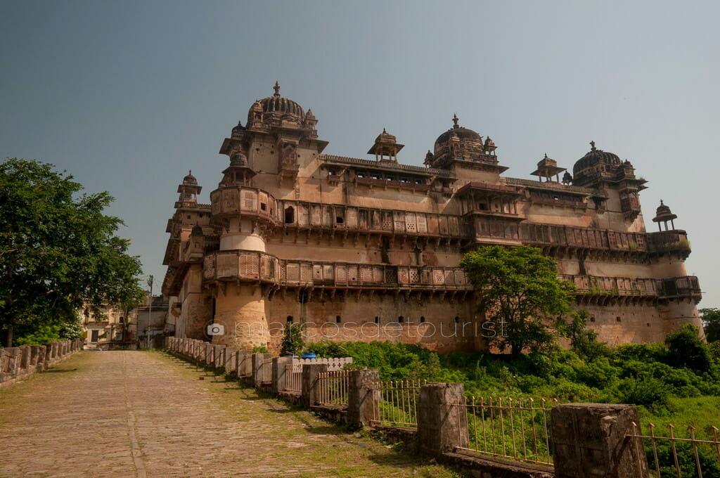 Orchha Fort, Orchha, Madhya Pradesh, India