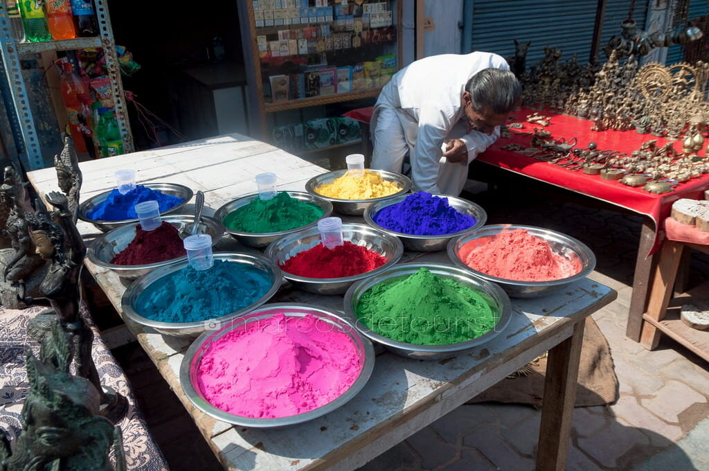Orchha Market Stall, Madhya Pradesh, India