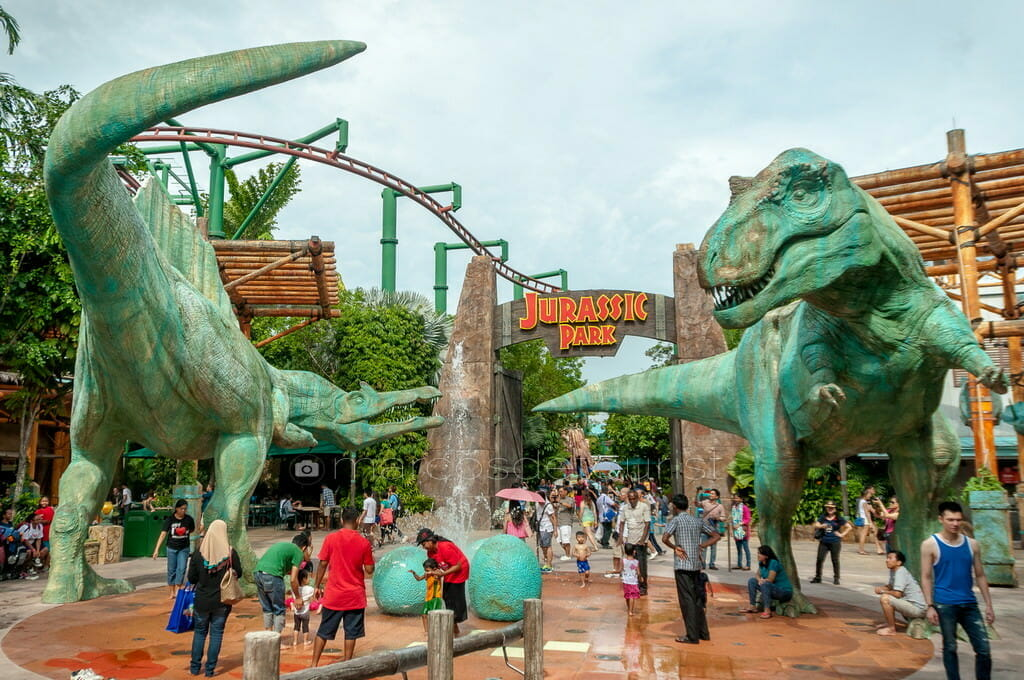 Universal Studios, Sentosa Island, Singapore