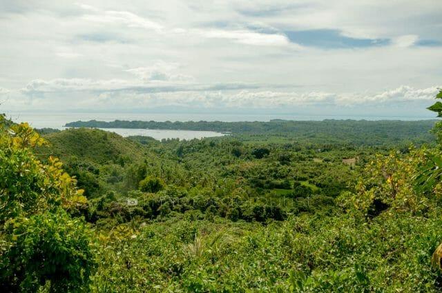 Refreshing overlooking view from Camiña Balay na Kawayan.
