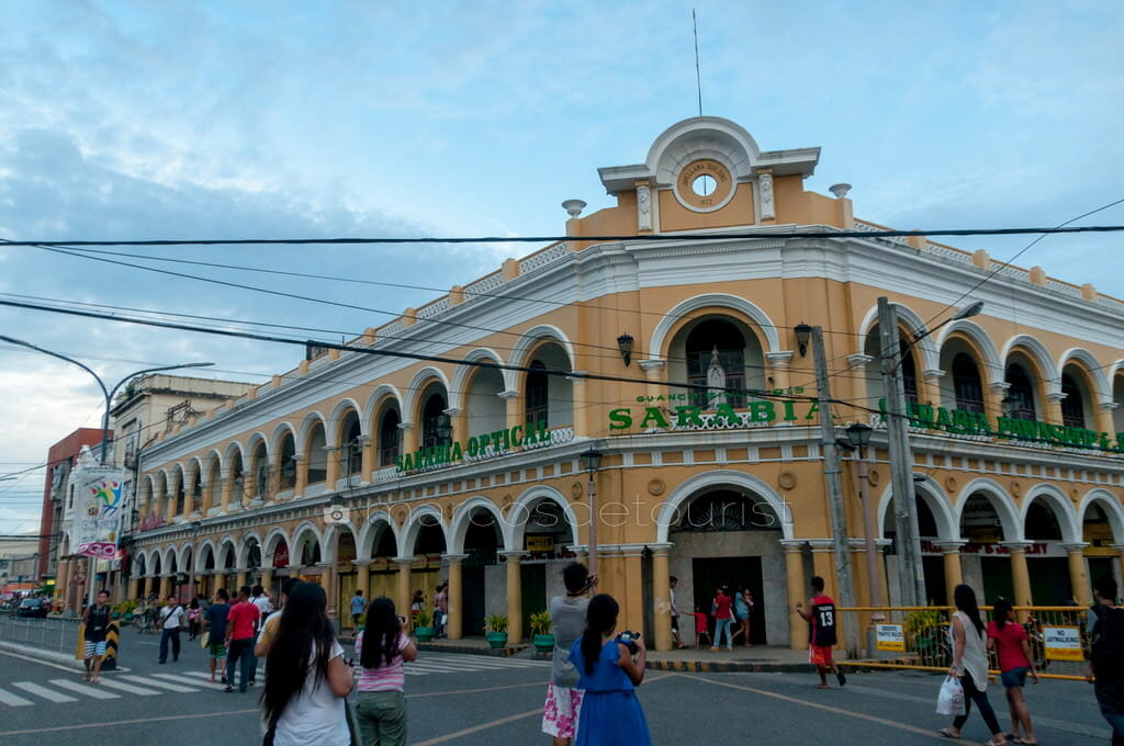 Javellana Building along Calle Real.