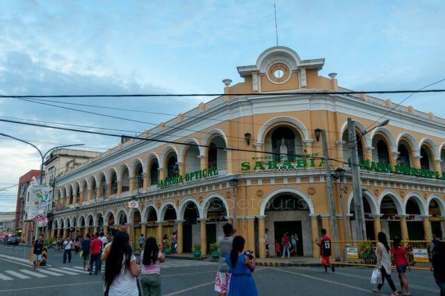 Javellana Building along Calle Real.