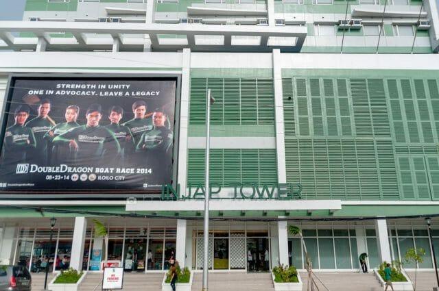 Injap Tower Hotel Entrance