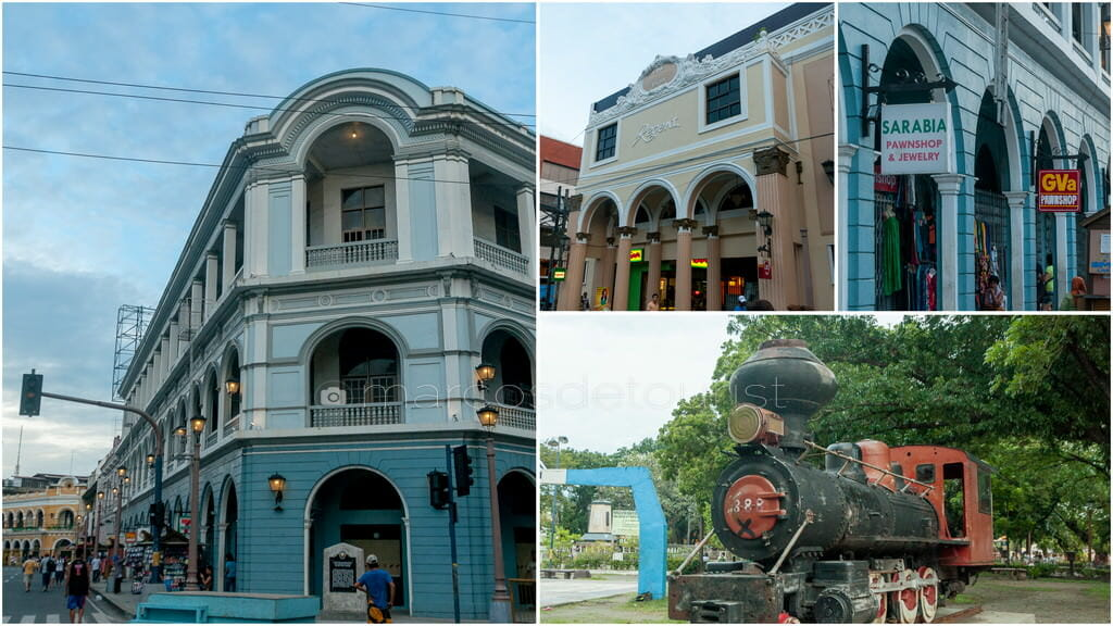 Various scenes along Iloilo City's Calle Real.