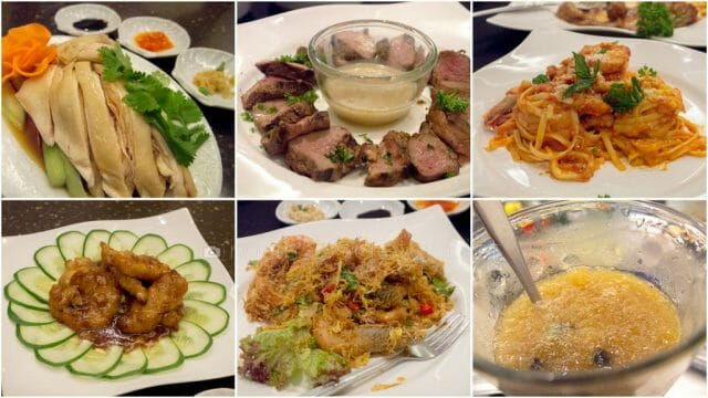Dinner at Horizon Cafe