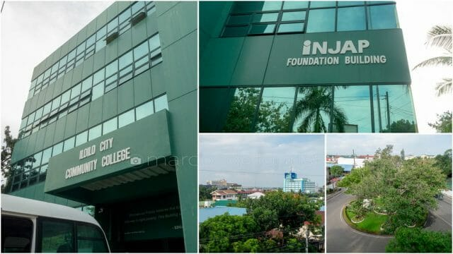 Iloilo City Community College, the first major corporate social responsibility (CSR) project of the Injap Group and serves as an avenue for less fortunate students to avail of quality education.