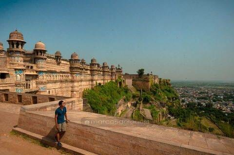 The Artistic Hill Fort of Gwalior, India