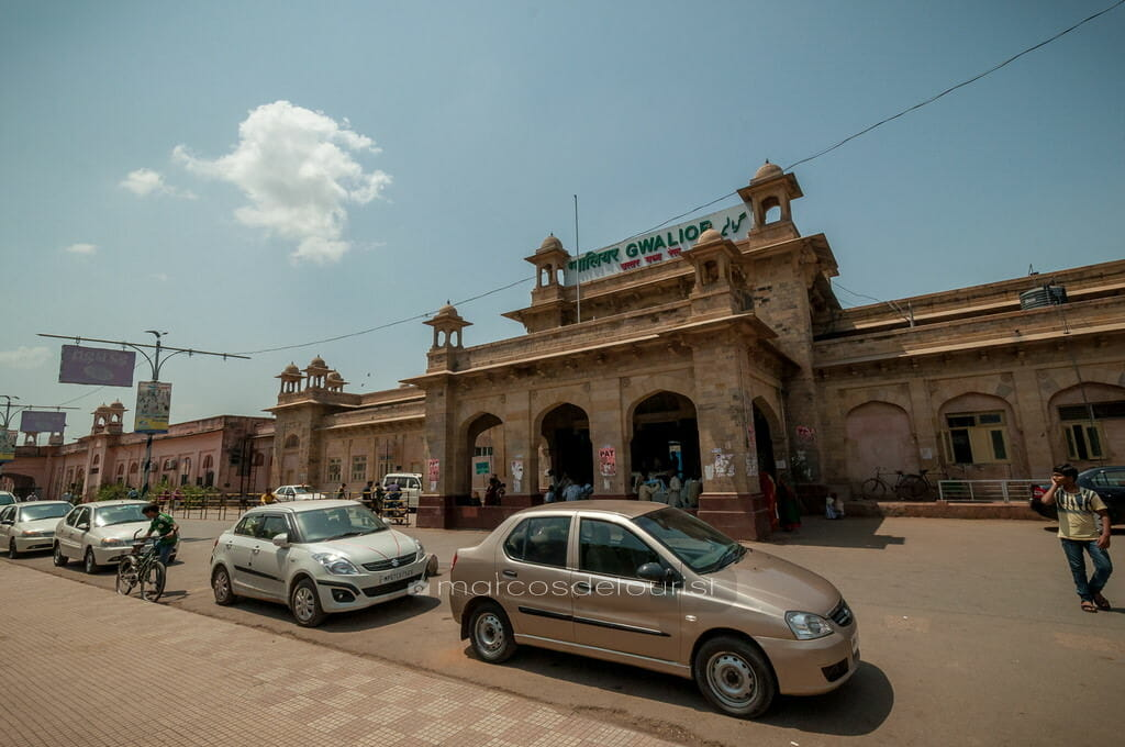 Gwalior Railway Station, Gwalior, Madhya Pradesh, India