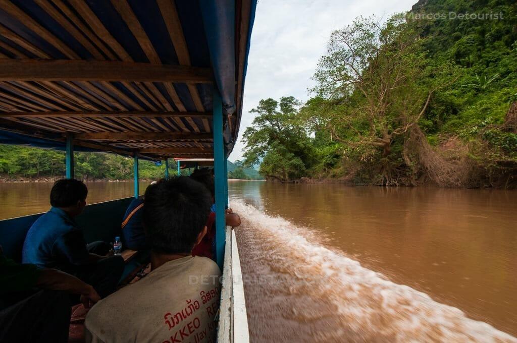 Nong Khiaw to Muang Ngoi Neua Ferry, Laos