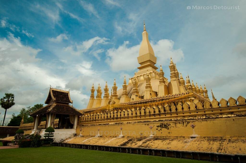 That Luang, Vientianne, Laos