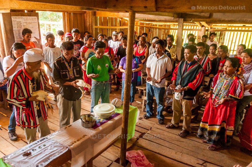 Higaonon Tribe in Limunsudan, Iligan City, Philippines.