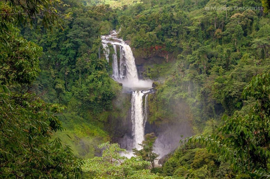 Limunsudan Falls, Iligan City, Philippines.