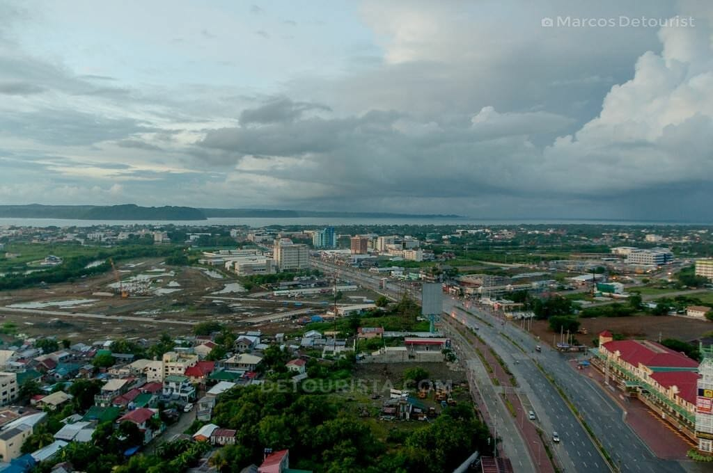 View from Injap Tower Hotel, Iloilo, Philippines