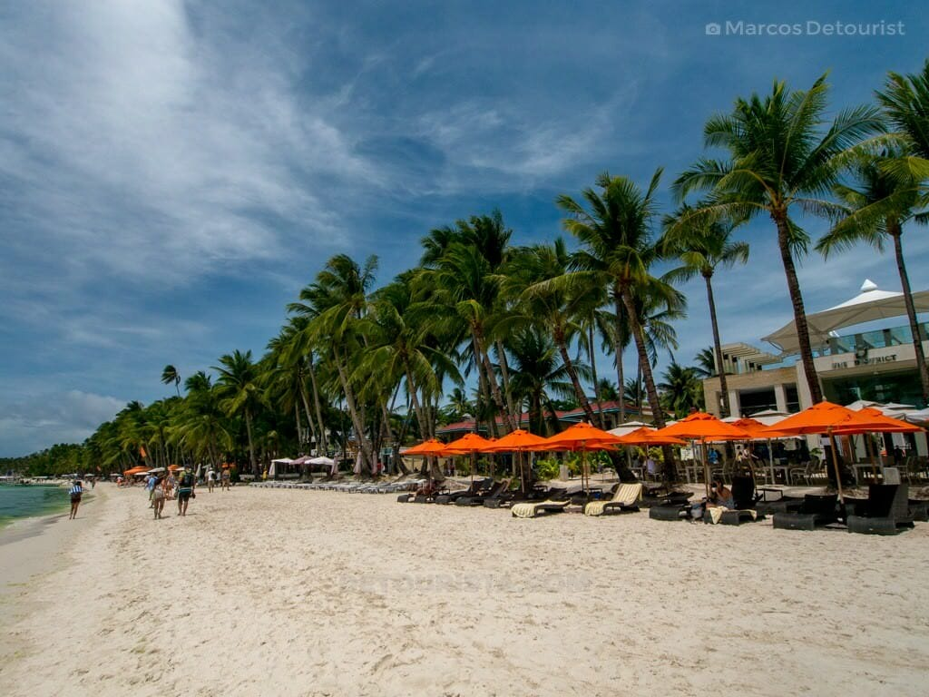 The District Beachfront, Station 2, White Beach, Boracay Island,