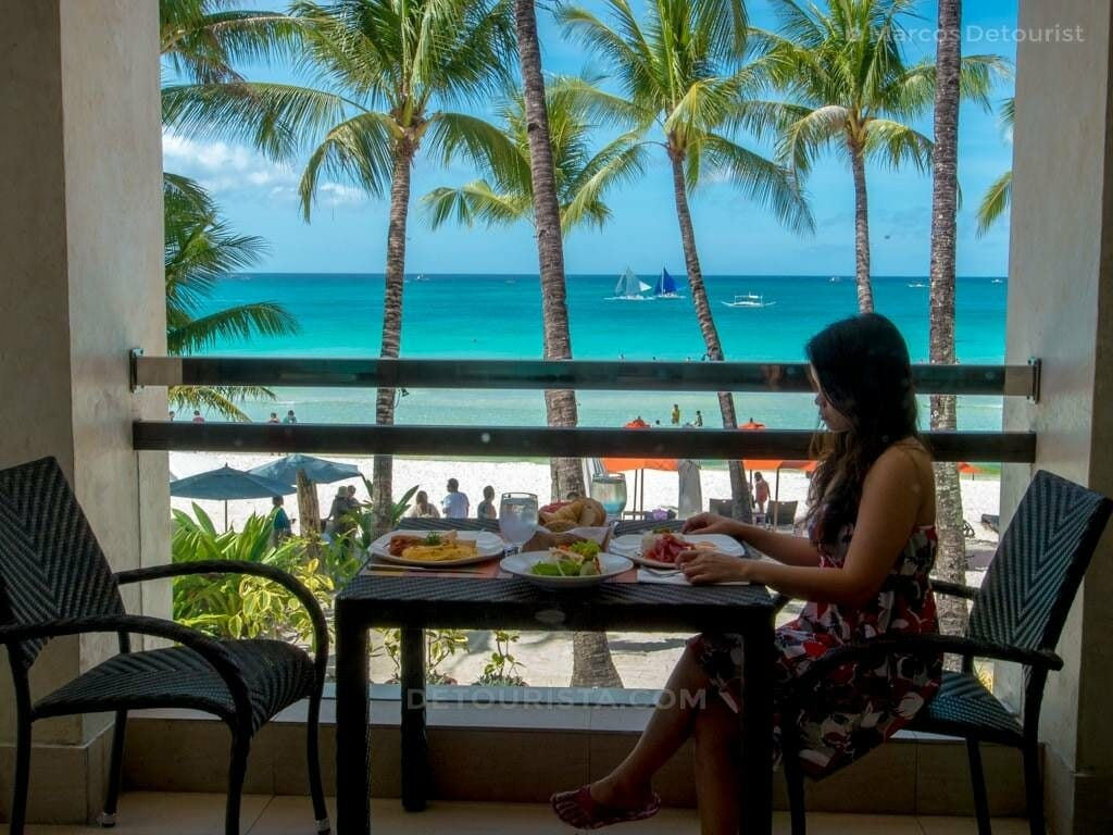 Breakfast at The District, Station 2, White Beach, Boracay Islan