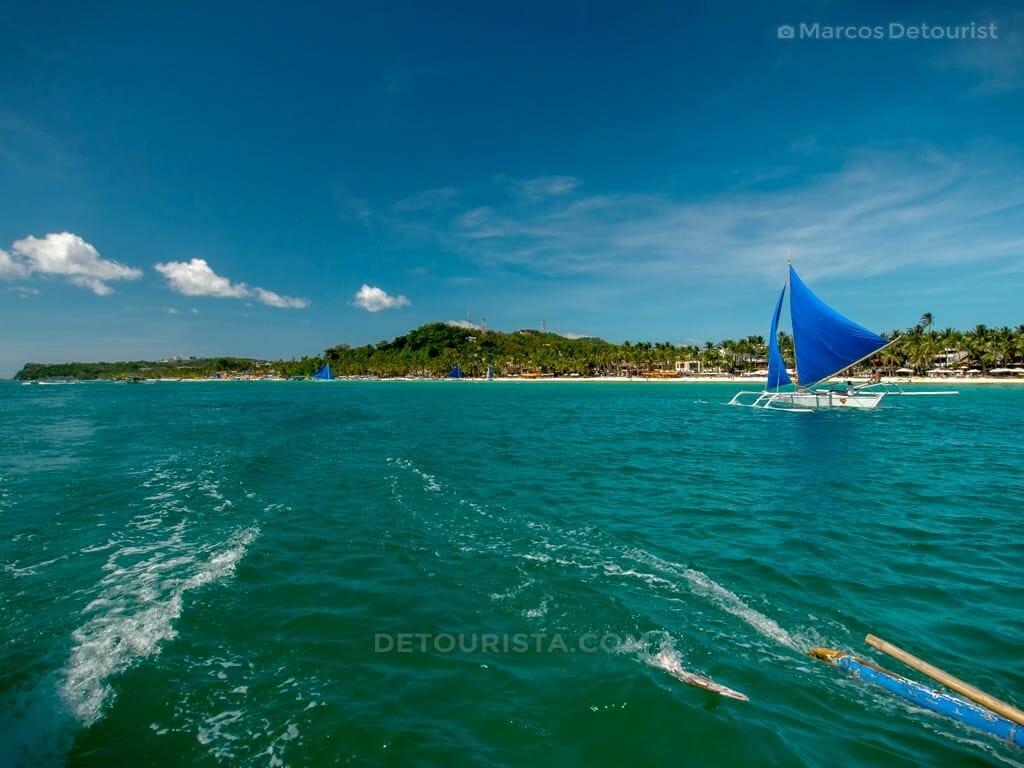 White Beach, Boracay Island, Malay, Aklan, Philippines