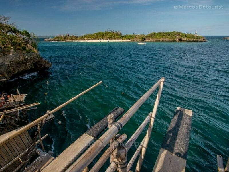 Cliff Diving at Magic Island, Malay, Aklan, Philippines