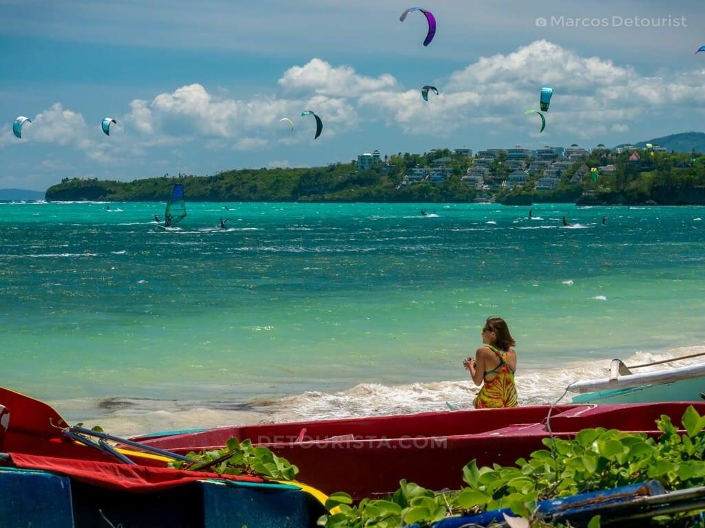 Bulabog Beach, Boracay Island, Malay, Aklan, Philippines