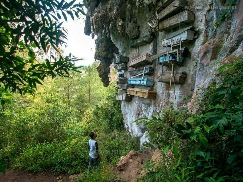 Hanging Coffins, Echo Valley, Sagada, Mountain Province, Philipp