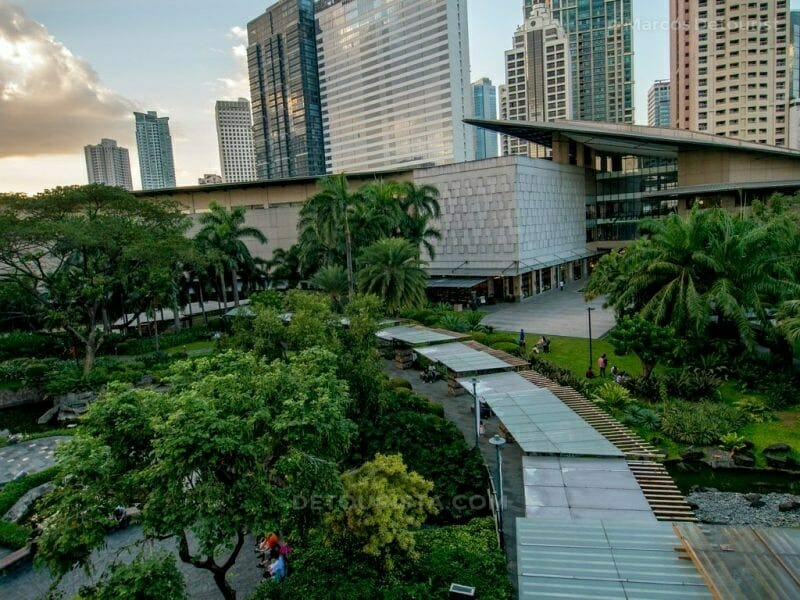 Outdoor Garden at Greenbelt Mall, Makati City, Philippines
