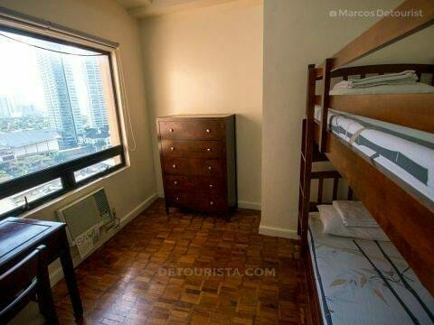 Two Bedroom (Alcoves 1) at Alcoves Apartment Hotel, Makati City,