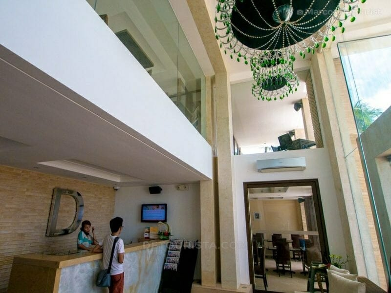 Front desk of The District Boracay, White Beach, Boracay Island,