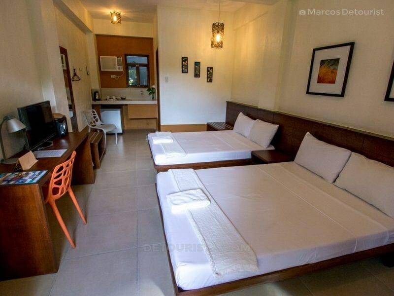 Deluxe Room at Agos Boracay.