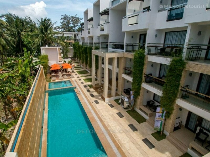 The District Poolside, Station 2, White Beach, Boracay Island, M