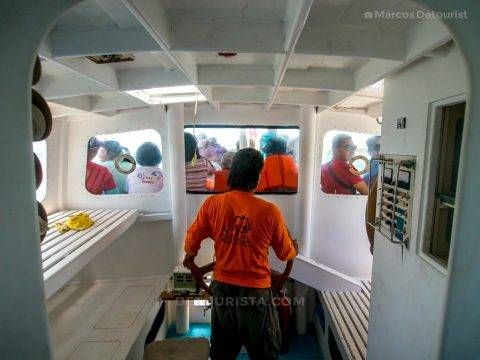 Boat ride to Gigantes Islands, Carles, Iloilo, Philippines