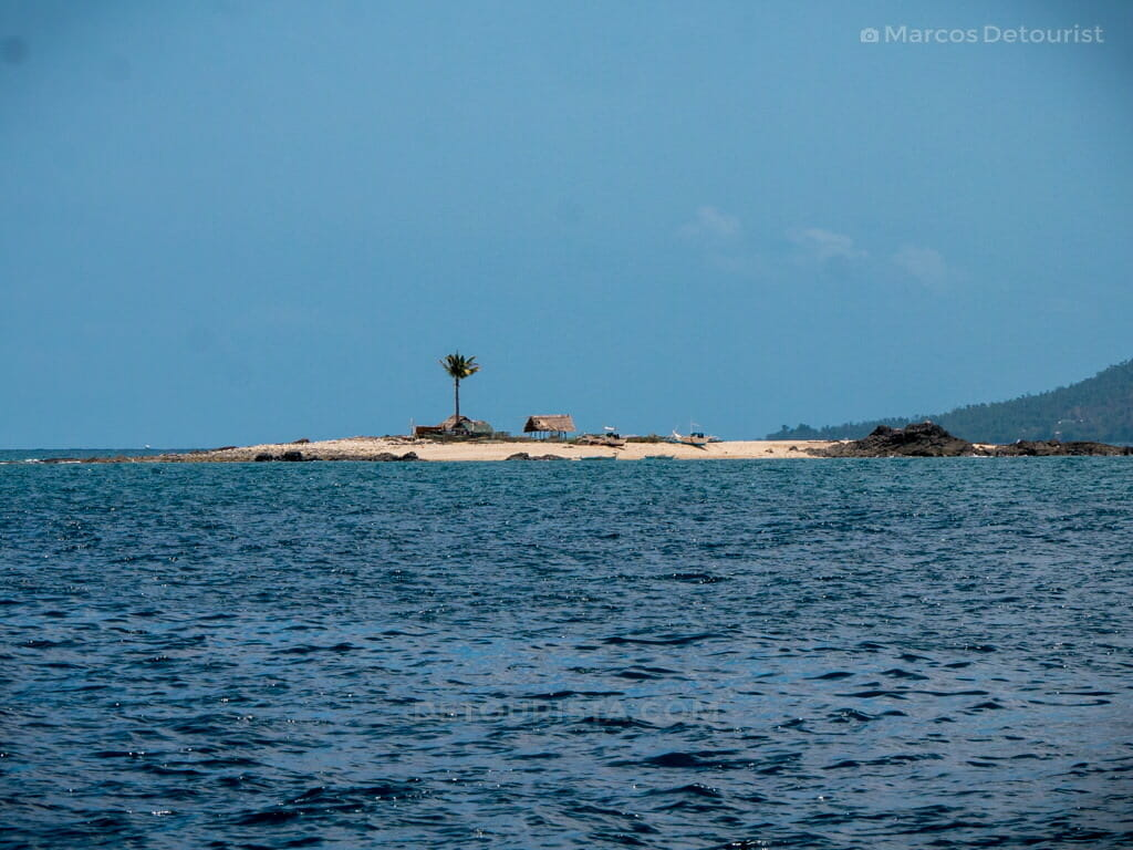 View of Pulupiña Island - Boat ride to Gigantes Islands, Carles, Iloilo, Philippines