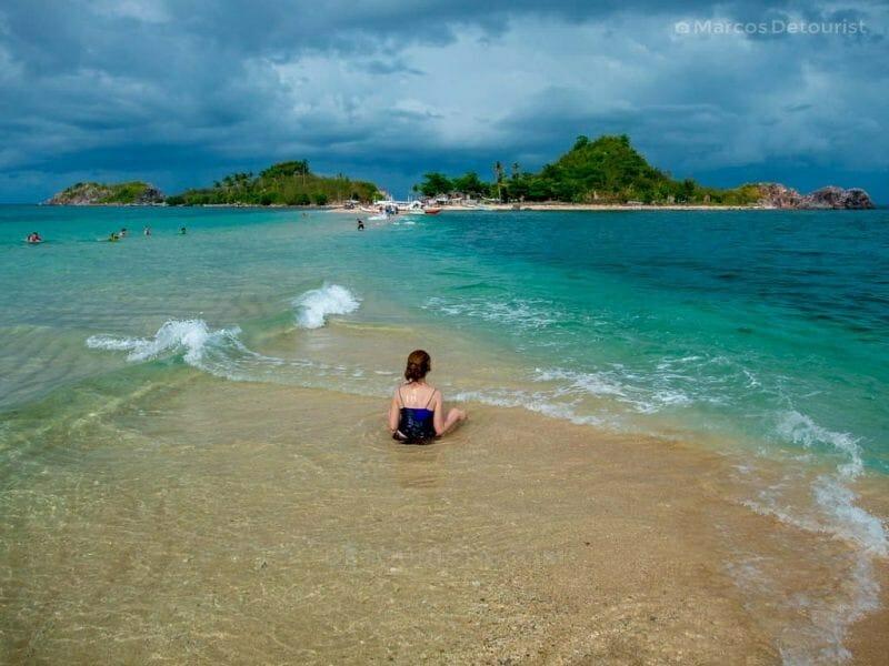 Sandbar at Bantique Island, Carles, Iloilo, Philippines