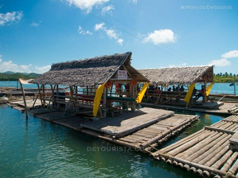 Floating cottage at Palina Greenbelt Ecopark, Roxas City, Capiz, Philippines