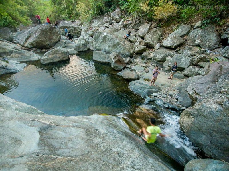 Liktinon Waterfall, President Roxas, Capiz, Philippines