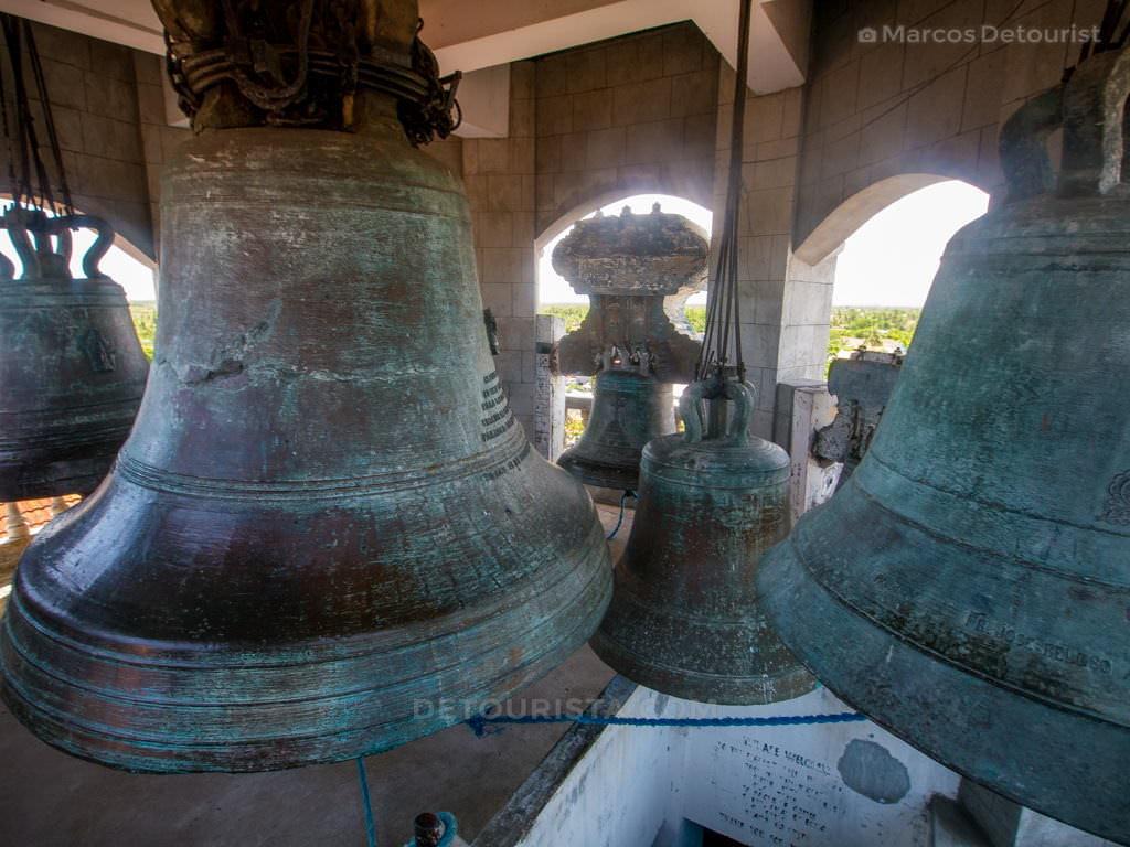 Huge Bell at Panay Church, Panay, Capiz, Philippines