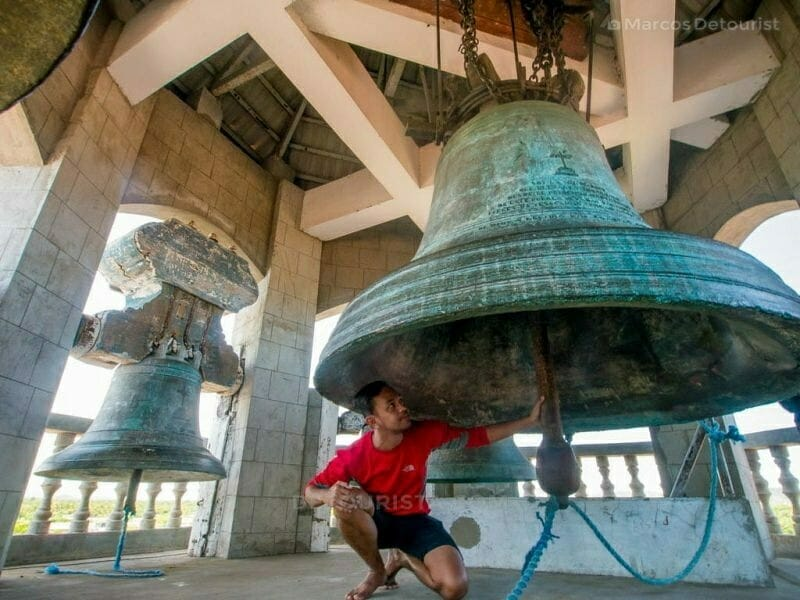 Huge Bell at Panay Church, Panay, Capiz, Philippines