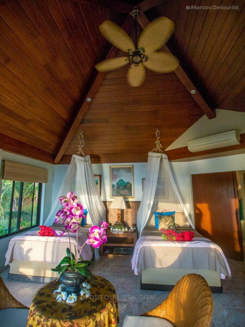 Villa Bedroom at Villa Visaya, Roxas City, Capiz, Philippines