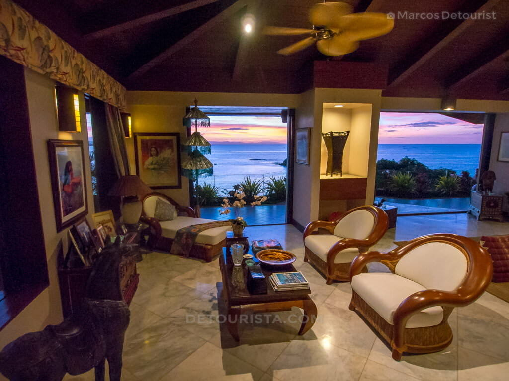 Interiors at Villa Visaya, Roxas City, Capiz, Philippines