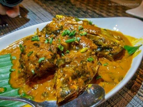 Adobadong Pantat (Catfish) at Cafe Terraza, Roxas City, Capiz, Philippines